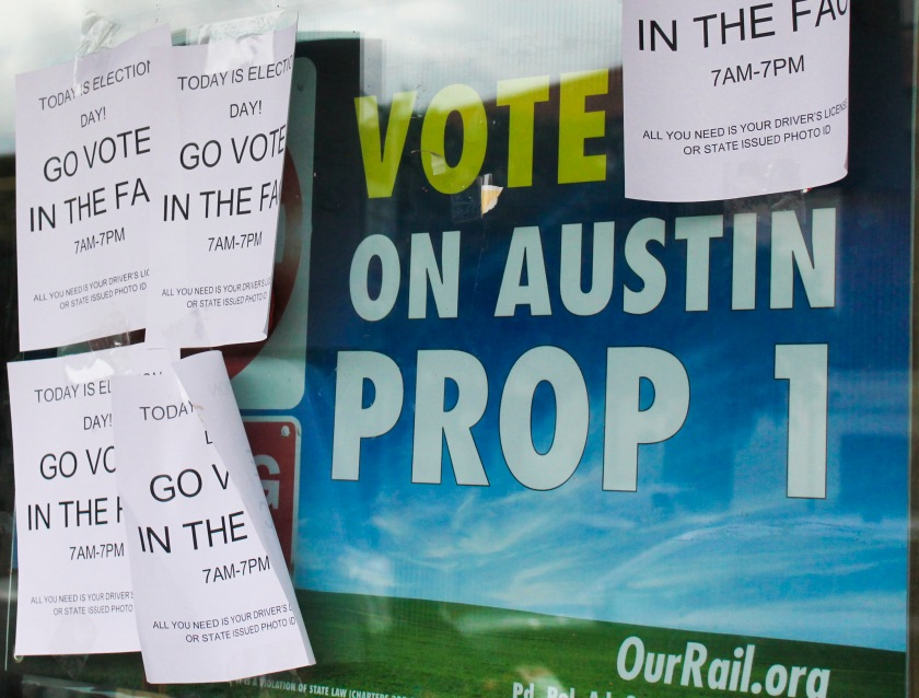 Voter turnout - it's not bigger in Texas. | Multimedia Newsroom