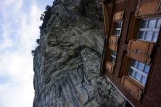Berggasthaus Aescher in Appenzell, Switzerland